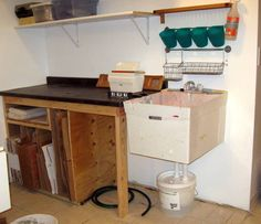 gleco-trap. Really helpful post on how to set up a clay trap for your sink via Emily Murphy