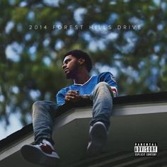 This is J. cole and this is his album cover called 2014 Forrest Hills Drive.