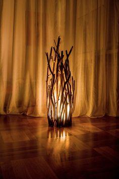 Produkttitel: Treibholz Lampe - Shopname: stockwerk-shop Unsere wunderschönen Holzlampen überzeugen durch ihre einzigartigen Materialien. Jede unserer Lampen ist ein Unikat. Zeitlose Eleganz...
