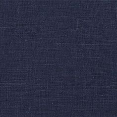 1C64 MIDNIGHT BLUE Softened - 100% Linen - Middle Weight (5.3 oz/yd2)