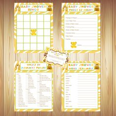 Lion King Baby Shower Games by JessicasPartyPrints on Etsy https://www.etsy.com/listing/231564202/lion-king-baby-shower-games