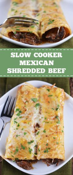 Cooker Tender Beef (For Enchiladas) This deliciously tender slow cooker Mexican shredded beef is so versatile and amazingly simple.This deliciously tender slow cooker Mexican shredded beef is so versatile and amazingly simple. Slow Cooker Mexican Beef, Mexican Shredded Beef, Slow Cooker Recipes, Crockpot Recipes, Cooking Recipes, Shredded Beef Burritos, Steak Recipes, Roast Beef Burritos, Slow Cooker Shredded Beef