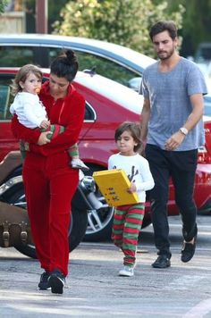 Our Hable Holiday Long Johns spotted on Mason and Penelope Disick.