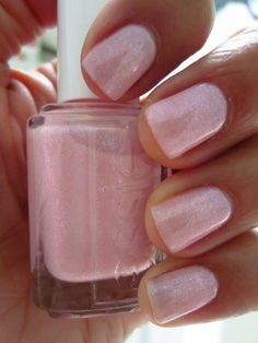 essie's 'pink-a-boo' - an actually classy shimmery pink!