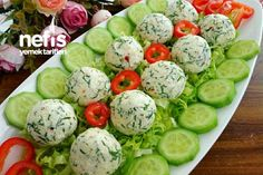 Turkish Recipes, Ethnic Recipes, Homemade Beauty Products, Cucumber, Watermelon, Brunch, Health Fitness, Fruit, Vegetables