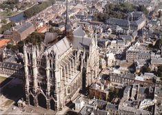 Tô indo para a França: Cathédrale Notre Dame - AMIENS