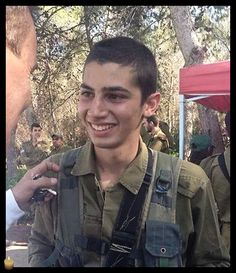 Sergeant Shon Mondshine, 19, from Tel Aviv, was killed protecting the citizens of Israel. May his memory be blessed. Praying for his family and friends.