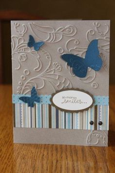 Butterfly Soiree by kookies - Cards and Paper Crafts at Splitcoaststampers