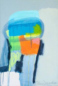 """Saatchi Art Artist Claire Desjardins; Painting, """"Attach Your Seatbelt"""" #art"""