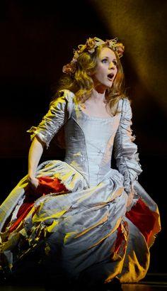 Lovely photo! Sarah Coburn as Elvira in the Boston Lyric Opera 2014 new production of I Puritani.