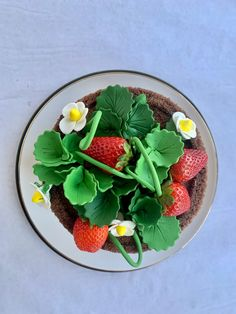 Tarta de fresas Strawberry, Fruit, Food, Strawberry Fruit, French Tips, Pies, Cooking, Essen, Meals