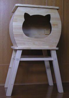Wood / Pallet, Cat House