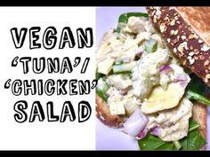 Easy Vegan 'Chicken' Salad