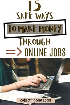 Make Money Online Now, Online Jobs From Home, Ways To Earn Money, Work From Home Jobs, Make Money From Home, Way To Make Money, Online Job Opportunities, Extra Money, How To Start A Blog