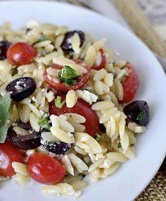 Recette: Salade d'orzo à la méditeranéenne