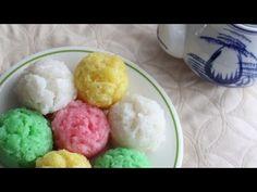 Banh Bo Hap - Cow Cake (Vietnamese Steamed Rice Cake)