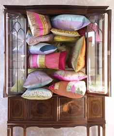 Love the new textile collection from British textile designer Clarissa Hulse.