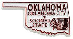 MGI Companies, Inc. - Oklahoma State Magnet, $1.49 (http://www.internationalgiftitems.com/oklahoma-state-magnet/)