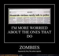 e41d5e749 Zombies file police reports Hd Wallpaper, Wallpapers, Funny Headlines,  Newspaper Headlines, Friday