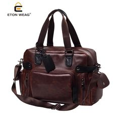 3536ac8622fd Click image to buyt  Fashion Retro men Travel Bags High-quality Brand man  laptop bag Versatile sort hand travel duffle shoulder or crossbody bags ~  Find out ...