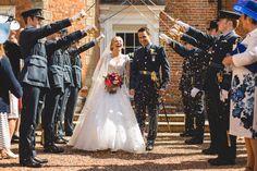 RAF Wedding Photography - Rosie & Pete