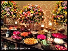 Casamento laranja, rosa e amarelo . Wedding Decor