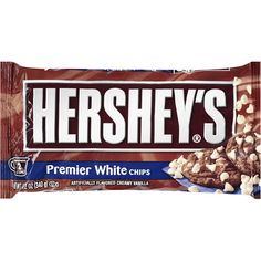 Hershey's Premier White Chips, Vanilla Flavored, 12 Oz: Baking