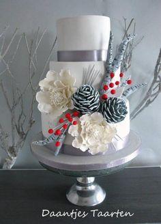 Winter wonderland - Cake by Daantje