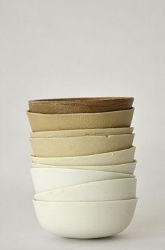 these bowls • kirstie van noort • via i'm revolting