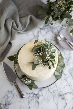 Chocolate cake with hazelnut ganache & vanilla Swiss meringue buttercream