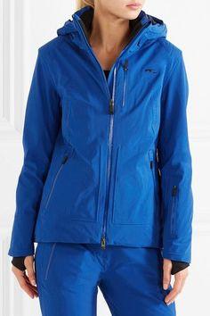 Kjus - Edelweiss Hooded Jacket - Cobalt blue - FR34