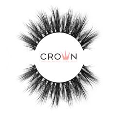 Crown Lashes Mink Fake Eyelashes in style La Pura Vida Fake Lashes, 3d Mink Lashes, Eyelashes, Doll Eyes, Super Natural, Latex Free, Makeup Yourself, Cruelty Free, Makeup Looks