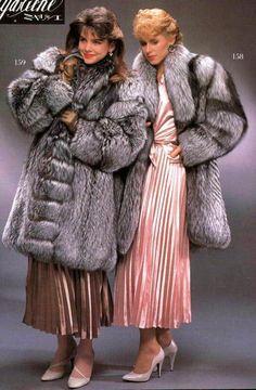 Silver Fox Fur Coats