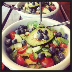 Let's lunch #healthy! :-) #eten #vega #foodporn #myview #homemade