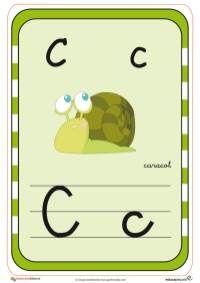 abecedario en color c Teaching The Alphabet, Activities For Kids, Preschool, Comics, Color, Neymar, Montessori, Learning Letters, Creative Writing