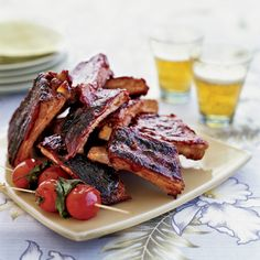 Chinese-Style Ribs with Guava Barbecue Sauce | Food & Wine