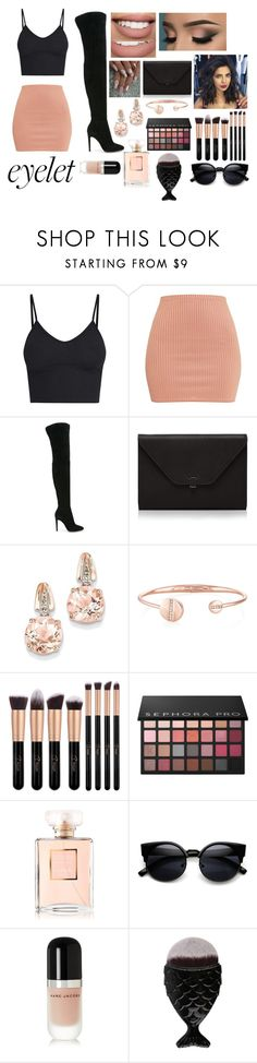 """""""Come On Me"""" by bronte-ryan ❤ liked on Polyvore featuring Gianvito Rossi, Bow & Arrow, Valextra, BillyTheTree, Sephora Collection, Chanel and Marc Jacobs"""