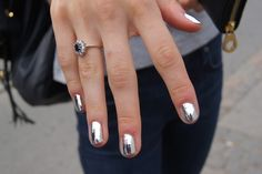 Silver mink nails