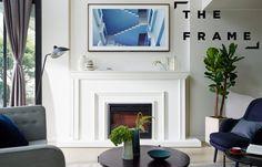 Quand le TV devient Art, une oeuvre d'art, comme un tableau suspendu... Samsung présente THE FRAME ! #Samsung #TheFrame #TV #UHD #UltraHD #4k #Téléviseur #SmartTV #ArtTV #TvLifestyleSamsung
