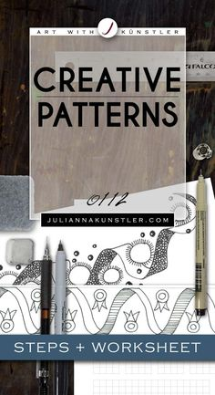 Linear pattern. Steps and worksheet.