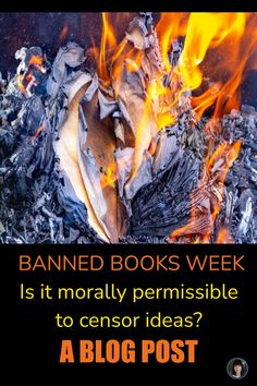 Banned Books Week is the week of September 26-October 2, 2021, and teachers and librarians from all over will be celebrating the literature that has the power and potential to challenge and shape the perspective of our lives and the world. Books that also happen to be banned. We already know books are banned, but it begs the question, Is it morally permissible to censor ideas? Have a look at my blog post to see a creative way to engage your students during Banned Books Week! High School Activities, Learning Activities, Life Learning, Teaching Resources, Teaching Ideas, High School Literature, Love Teacher, Higher Order Thinking, Levels Of Understanding