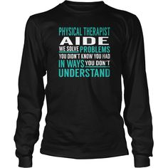 Best #PHYSICAL THERAPIST AIDE  SOLVE PROBLEMSFRONT1 Shirt, Order HERE ==> https://www.sunfrog.com/LifeStyle/122359883-648912902.html?51147, Please tag & share with your friends who would love it, knit scarves, crochet basket, crochet headband #legging #humor #illustrations  #physical therapist shirt, physical therapist gifts, physical therapist quotes  #quote #sayings #quotes #saying #redhead #architecture #ginger #art #cars #motorcycles #celebrities #DIY #crafts #design #education