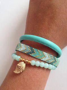 Bracelet brésilien en perles                                                                                                                                                     Plus