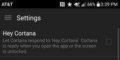 """Hey Cortana"" voice command now active for Android app - http://www.windowsobserver.com/2015/10/23/hey-cortana-voice-command-now-active-for-android-app/"