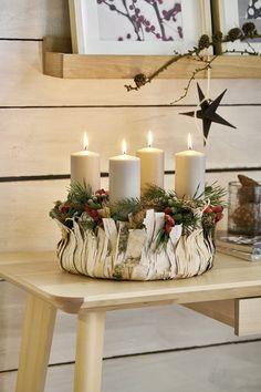 Christmas Centerpieces, Christmas Decorations, Table Decorations, Christmas Time, Merry Christmas, Xmas, Bohemian Wedding Reception, Advent Candles, Craft Show Ideas