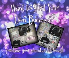 Do you want to start your own business?to join our team and purchase your member kit today! Join Our Team, Ways To Earn Money, Starting Your Own Business, Be Your Own Boss, Events, Fun, Gifts, Presents, Favors