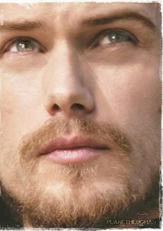 Sam Heughan...Scottish ACTOR...I could drown in them there eyes!