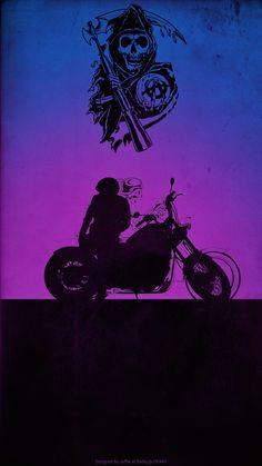 ArtStation - Sons of anarchy poster, Cesar Jaffar Charlie Sons Of Anarchy, Sons Of Anarchy Samcro, Mood Wallpaper, Cartoon Wallpaper, Iphone Wallpaper, Sons Of Anarchy Tattoos, Bob Marley Art, Harley Dyna, Interracial Love