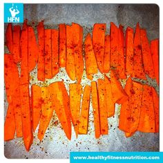 Gesunde Süßkartoffel-Pommes Frites (Gesunde Pommes selber machen)