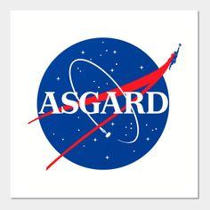 Asgard Nasa Logo.